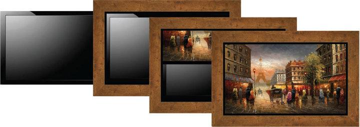 Система декорирования телевизионных панелей ArtScreen от Vutec