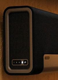 Sonos PLAYBAR вид сбоку кнопки