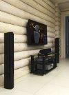 Аудио-видео система. Вид сбоку. миниатюра