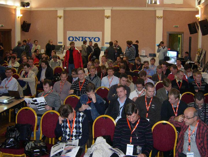 Конференция Onkyo Metz, октябрь 2009