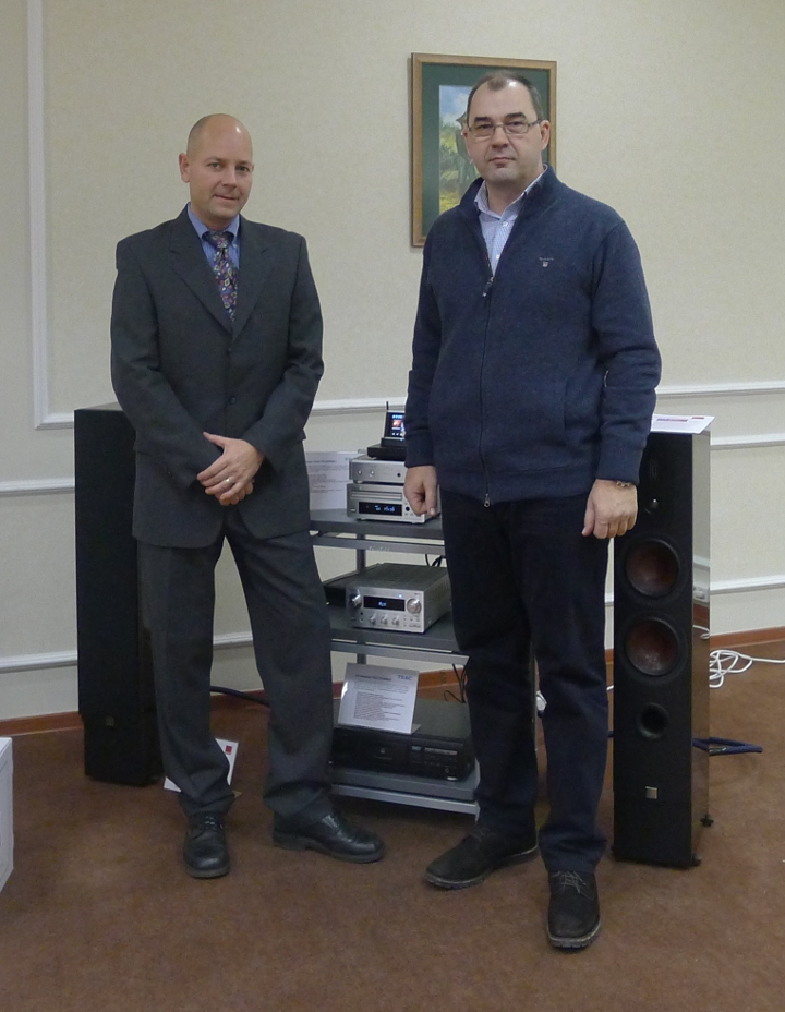 Stephan Wieland TEAC Valeriy Khusainov Media House