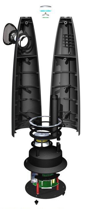 Устройство акустической системы M6 Meridian Audio