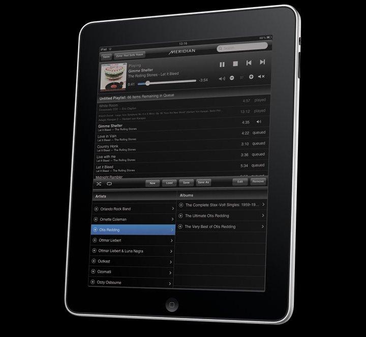 Meridian Audio App для iPad