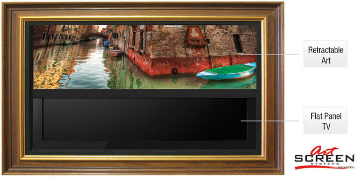 Vutec Artscreen декорирование телевизоров