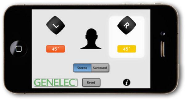 App Genelec для iPhone