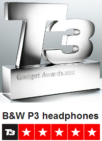 T3 Gadget Awards Bowers and Wilkins