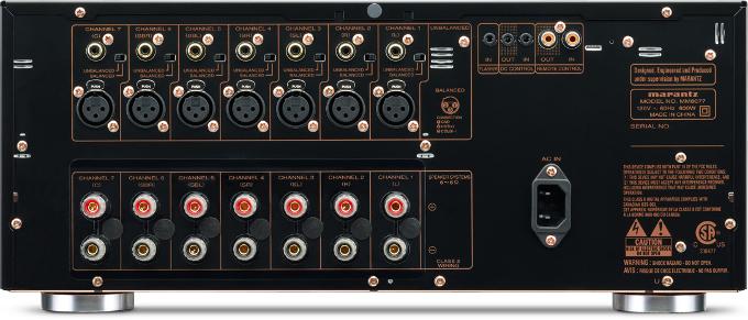 Marantz MM8077 черный задняя панель