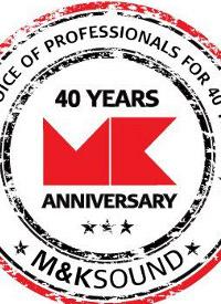 40 лет компании MK Sound