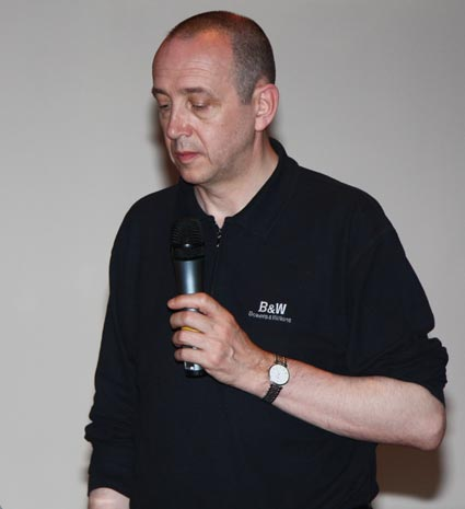 Роберт Синклер (Rob Sinclair) - президент европейского отделения компании Rotel и член совета директоров B&W Group